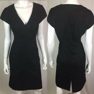 J Crew chic cap sleeve wool career dress